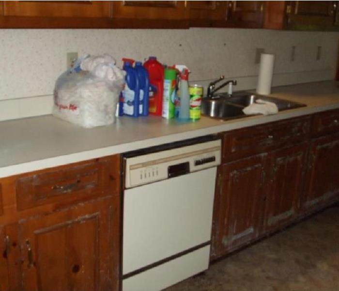 Mold Remediation that resulted from Water Loss Before